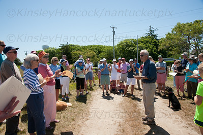 Sconset Trust Opening Ceremony of Ruddick Commons, Siasconset, MA, June 28, 2014