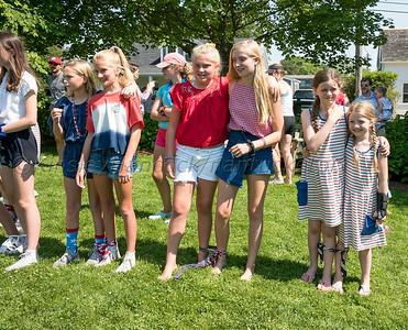 'Sconset Trust Games on the 'Sconset Chapel lawn, Siasconset, Massachusetts, July 4, 2019