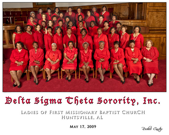 Delta Sigma Theta - Ladies of First Missionary Baptist Church