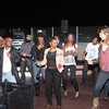 Top Golfers dancing to the music of Digital Crates Event Services at Top Golf.