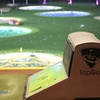 """Top Golf has a huge golf ball hitting range (I'm not a golfer so if that is not the right terminology, oh well). Uniquely, the hitting """"bays"""" are on three level so you so you can hit golf balls into this area from the third floor (all while enjoying food, drinks, TV and hanging out with friends)."""