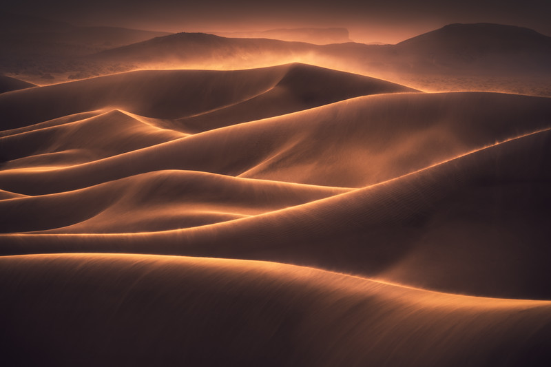 Death Valley National Park Sand Dune Photography