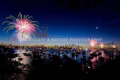 New Year's Eve Fireworks, Sydney Australia #003