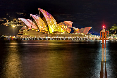Vivid Light Festival - Sydney Harbour, Australia