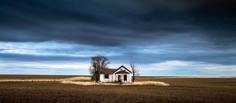 Abandoned Farmhouse, Fall 2017