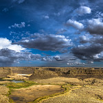 Dry Falls early evening