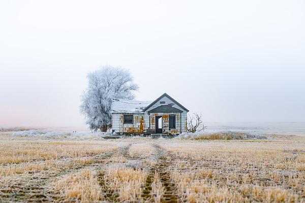 Abandoned Farmhouse, Fall 2018