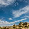 Sandstone Rock Formation in southeast Montana - Rocker 6 Ranch