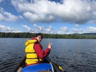 Orientation 2018: Canoeing Lake Umbagog - South
