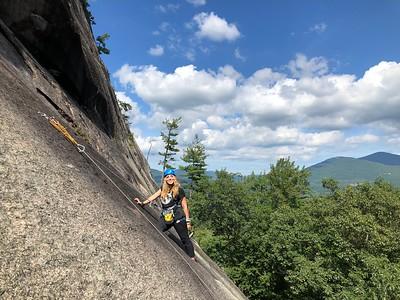 Orientation 2018: Rock Climbing North Conway