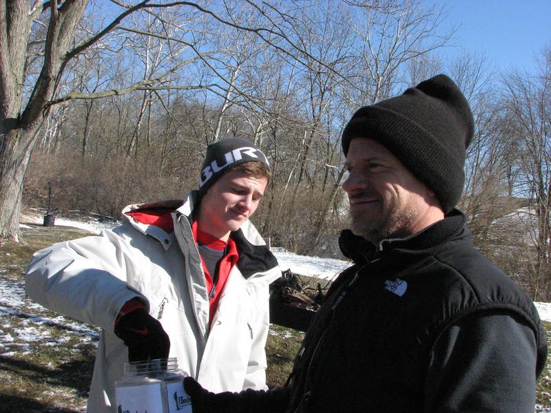 Parker Vaughan and Event Director Steve Vaughan