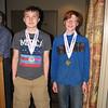 Jamie Reeder and Aidan Minto, M-16
