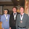 Videlin Aleksiev, Jens Chrictiansen, Ben Hart (M35+)