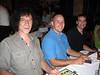 Erick Lebreton, Jeremy Franklin, Steve Barnhart.
