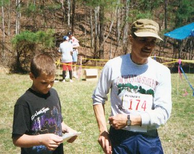 Joel and Jon Rauschenbach, Oak Mountain, March 1995