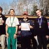 COC 2001 - M-14 awards  - Steven and Thomas Graupner, Kyle Hertel, ...