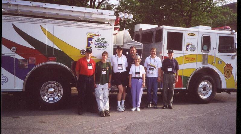 Dick Arnett, Carl Sack, Bob Frey, Dan Dell, Claire Dell, Mike MInium, Pat Meehan