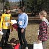 Parker, Heidi, and Jameson Vaughan, Morgan Vaughan in front