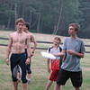 fun at OUSA Junior Camp - Letchworth SP - Andrew, Ethan, Lucas, Max