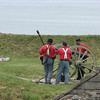 reenactors at Ft. Ontario