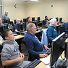 OCIN Course Setting Class.  Seated (front row) Addison Bosley, Dick Arnett, Joyce Whalen, Rex Settlemoir, Erick Lebreton.