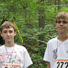 Sam and Hunter at Saturday start.