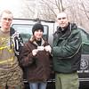 Marcus Blair, Eryn Kraus, Chief Mike Moyer (Diamond Oaks)