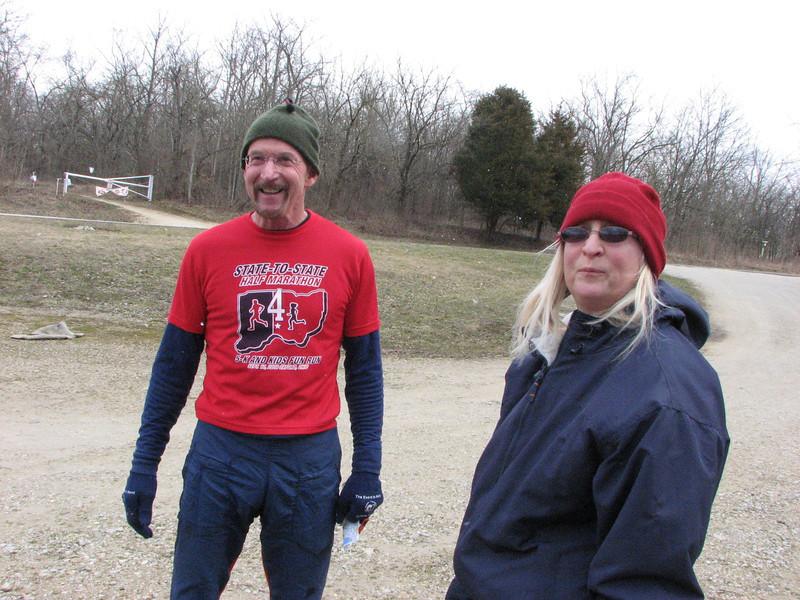 Bill Swift and Debra Hertel
