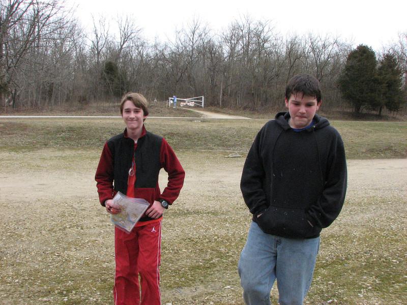 Sam Kelsch and Brennan Hertel