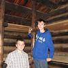 Brennan and Sam visit replica cabin where Washington's troops spent winter of 1780 near Morristown, NJ