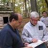 Matthew Robbins, Pat Meehan, Brennan Hertel.  Morristown Historic Site (Jockey Hollow).