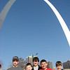 Gateway Arch, St. Louis, March 7