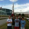 July 29, Strategic Air Command Museum, Omaha -<br /> Jamie, Alex, Dylan, Sam, Benjamin