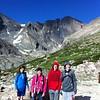 Chasm Lake Trail, Rocky Mountain National Park, July 5