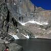 Chasm Lake, Rocky Mountain National Park, July 5, 2016