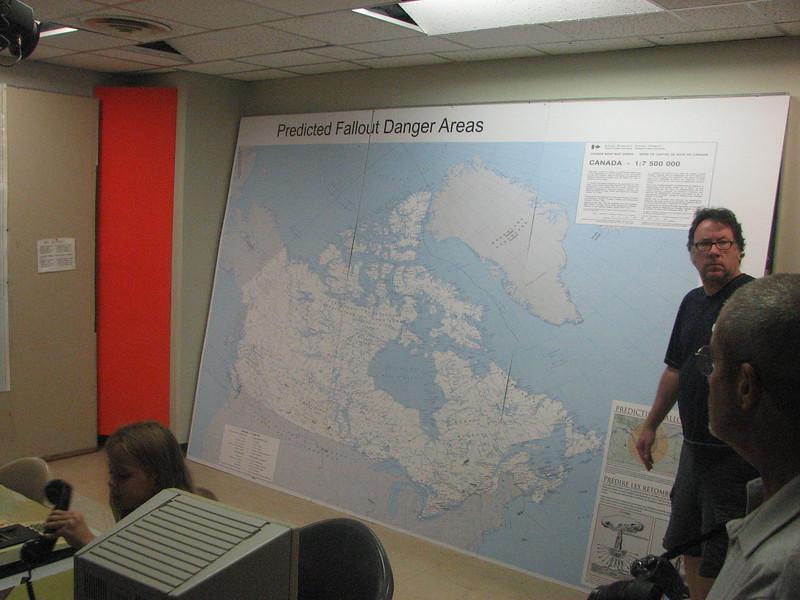 Diefenbunker, Canada's cold war underground command center, Carp, Ontario