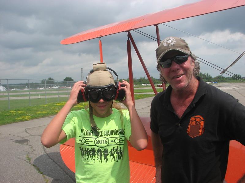 Priscilla and the pilot
