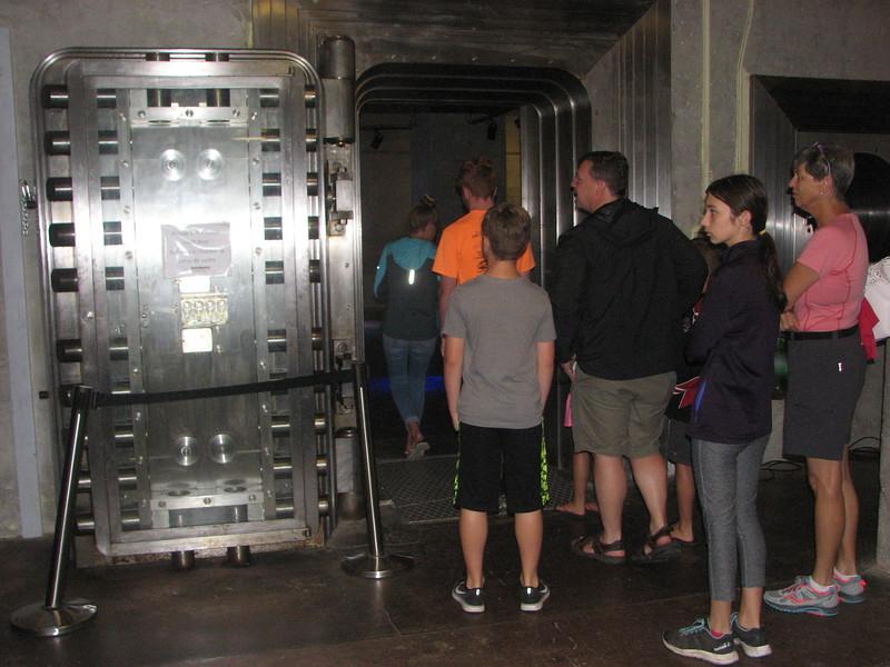 Diefenbunker, Canada's cold war underground command center, Carp, Ontario - gold storage vault