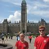 Priscilla and Jordan, Canadian Parliament