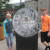Priscilla and Jordan at Royal Canadian Mint, Ottawa
