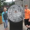 Priscilla and Jordan at Royal Canadian Mint, Ottawa