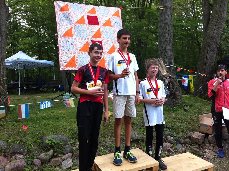 COC Long - M-14: Alec (1st, center), Ewan (2nd, on left), Lukas (3rd)