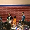 8th grade awards - Jordan, Braydon, Mahlon.  photo by Ron Ross.