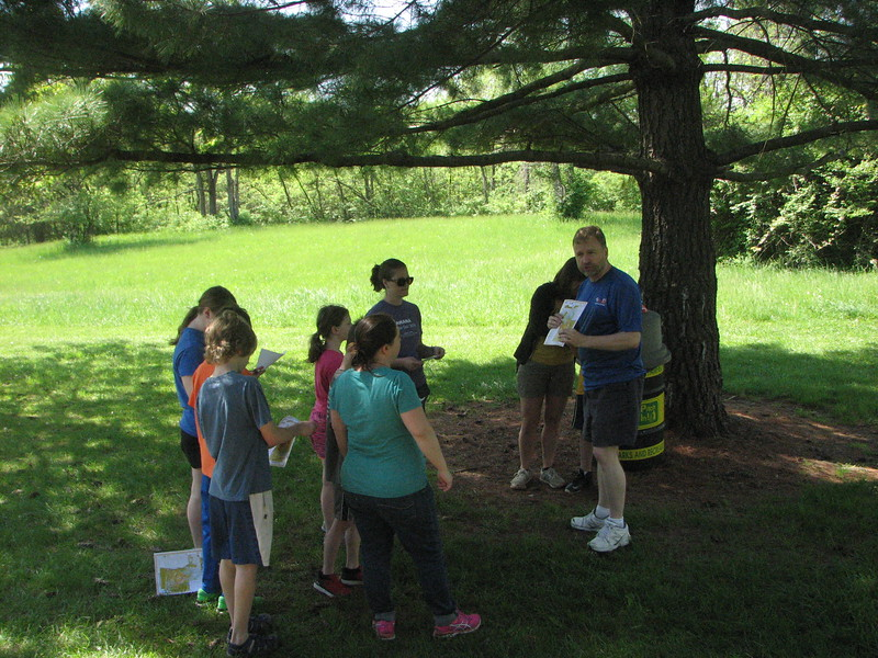 Thurston gives instruction