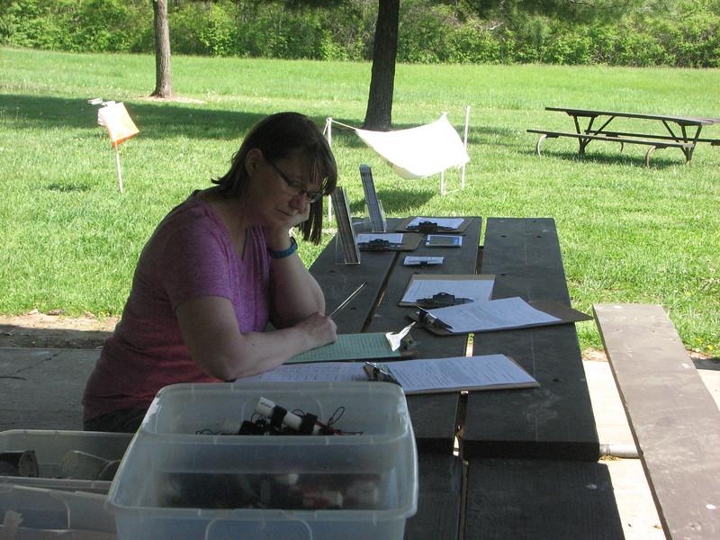 Bonnie at Registration