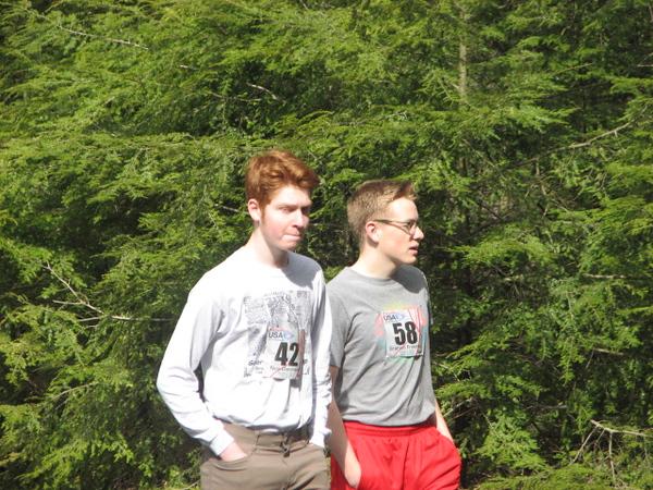 Mt Tom - Noa and Graham