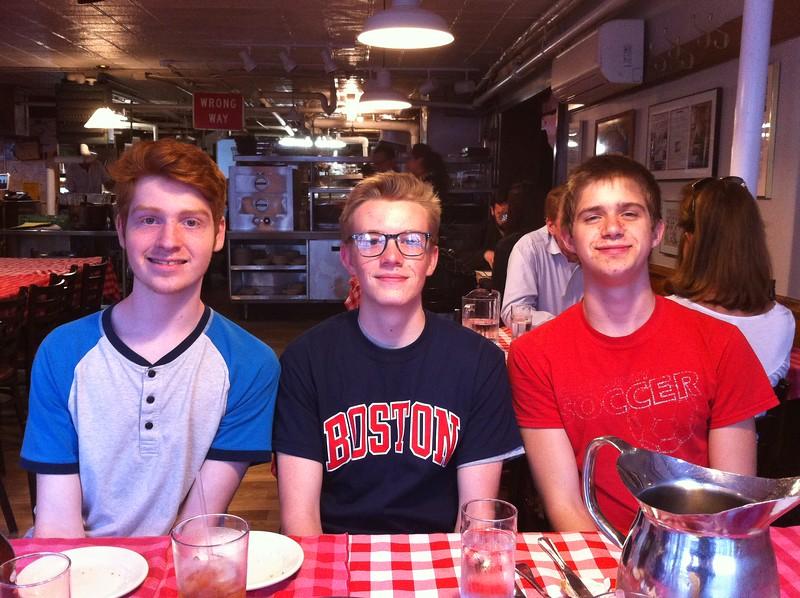 Noa, Graham, Nathan