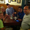 dinner at Schwabl's in Buffalo, NY - Ethan, Priscilla, Skyler, Peyton, Matthew