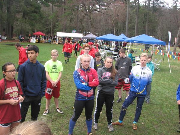 Junior Teams meeting at Mt Tom