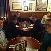 dinner at Schwabl's in Buffalo, NY - Noa and Graham (front), Luke, Jordan, Braydon, Mahlon, Nathan